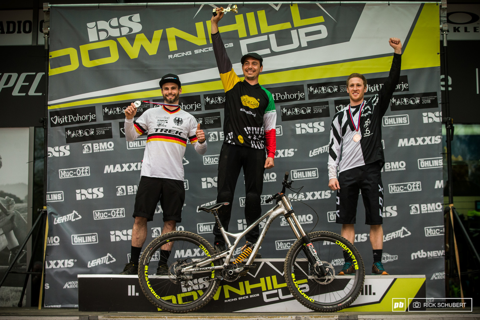 Podium Masters with Dominik Dierich Fabrizio Dragoni and Billy Caroli