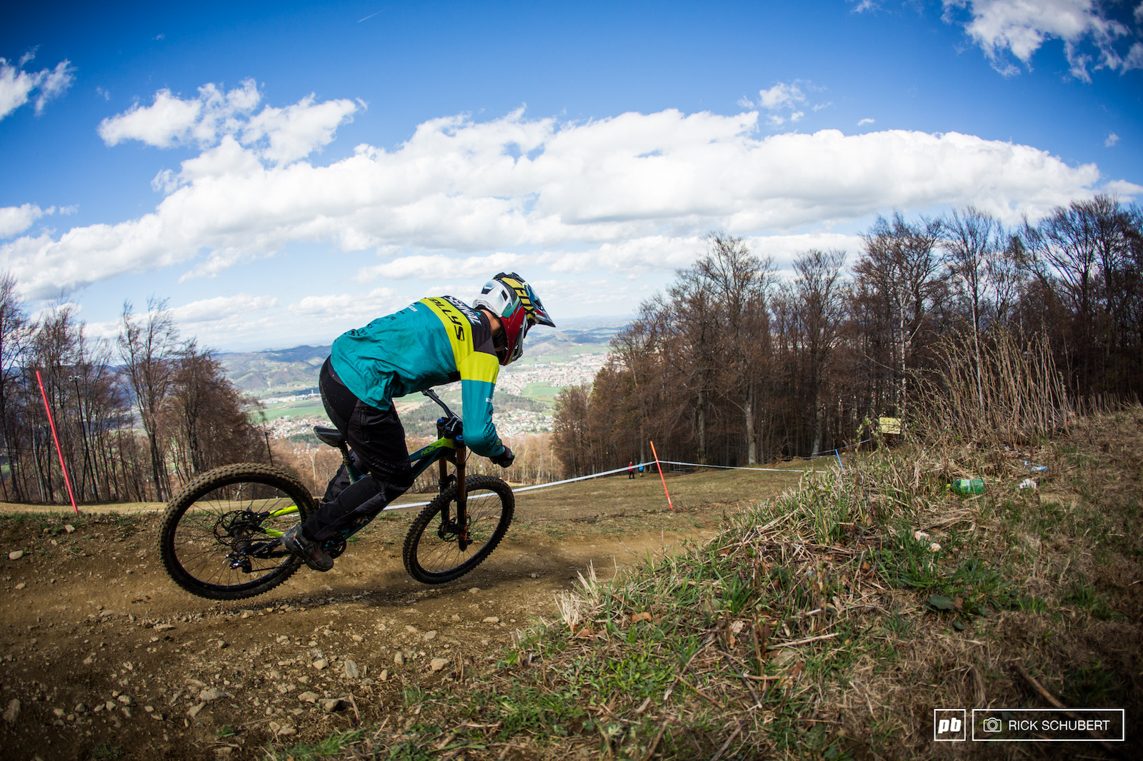 The legendary track in Maribor was the opening venue of the iXS European DH Cup and provided all time conditions and a rough track