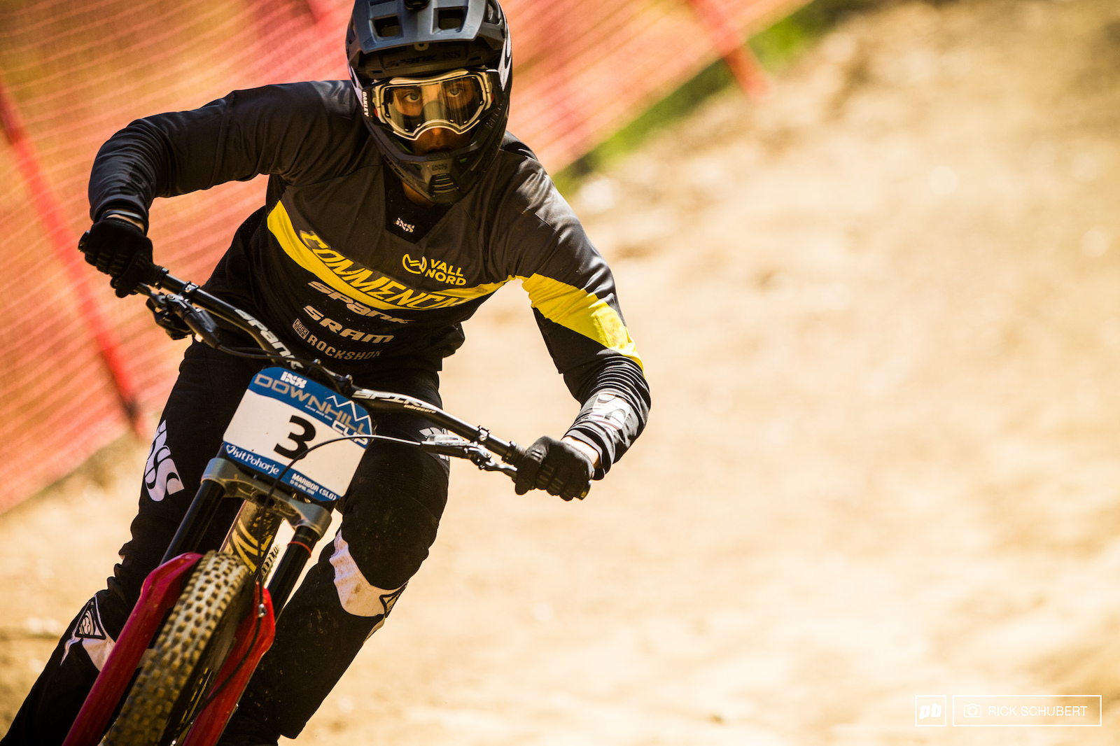 Commencal sent out the whole team to race in Maribor