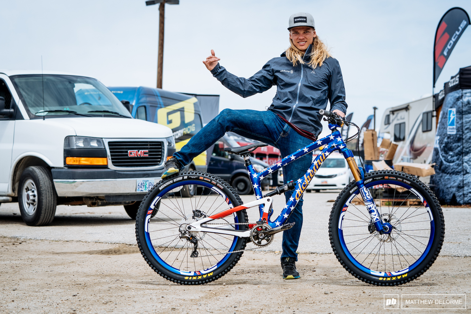 Anyone remember this Red White and Blue Alchemy Arktos Cody Kelley rode in DS
