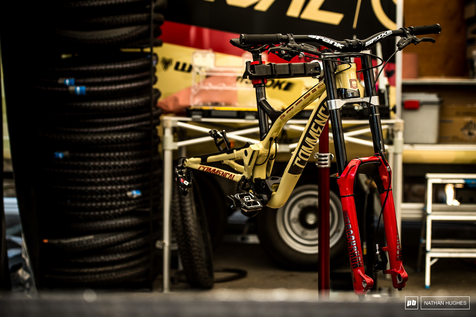 All kind of badass bikes are lurking in the pits ready to be unleashed on track.