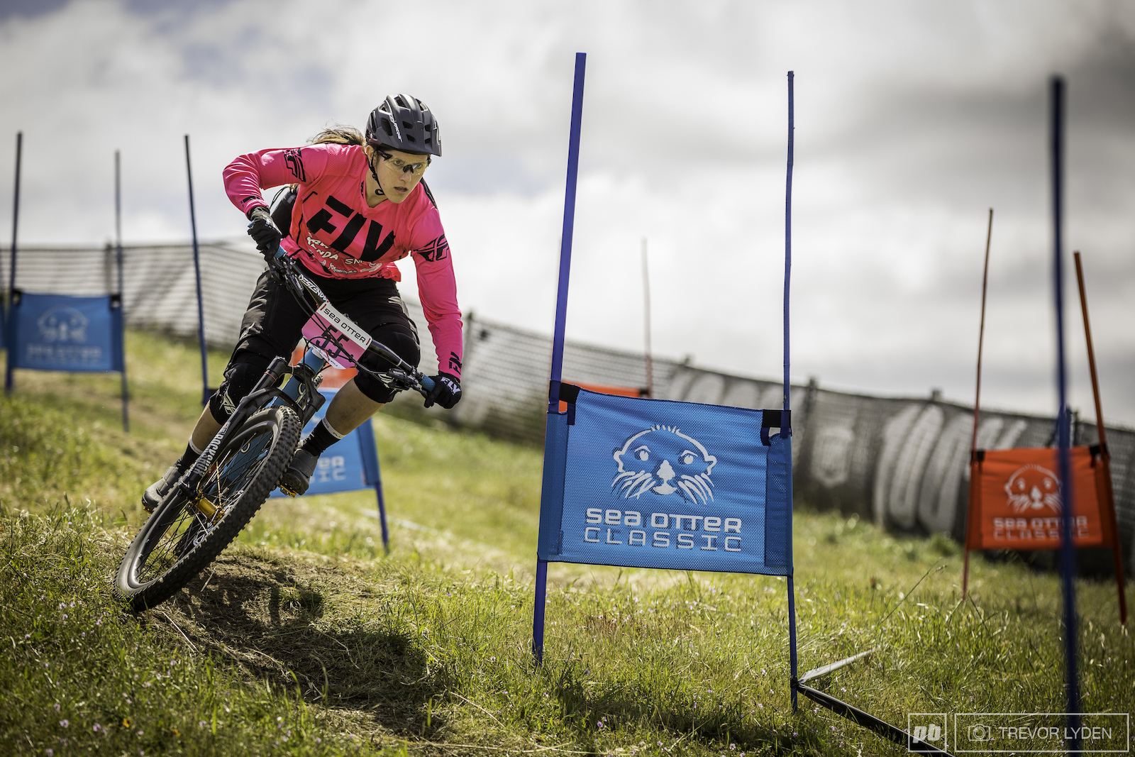 Porsha Murdock on stage 4 of the enduro.