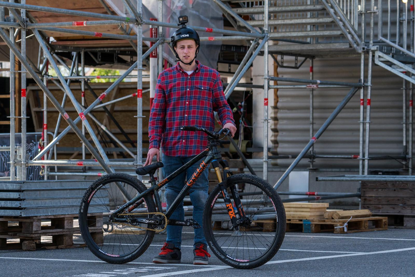 Tom Cardy Green Bikes Scope