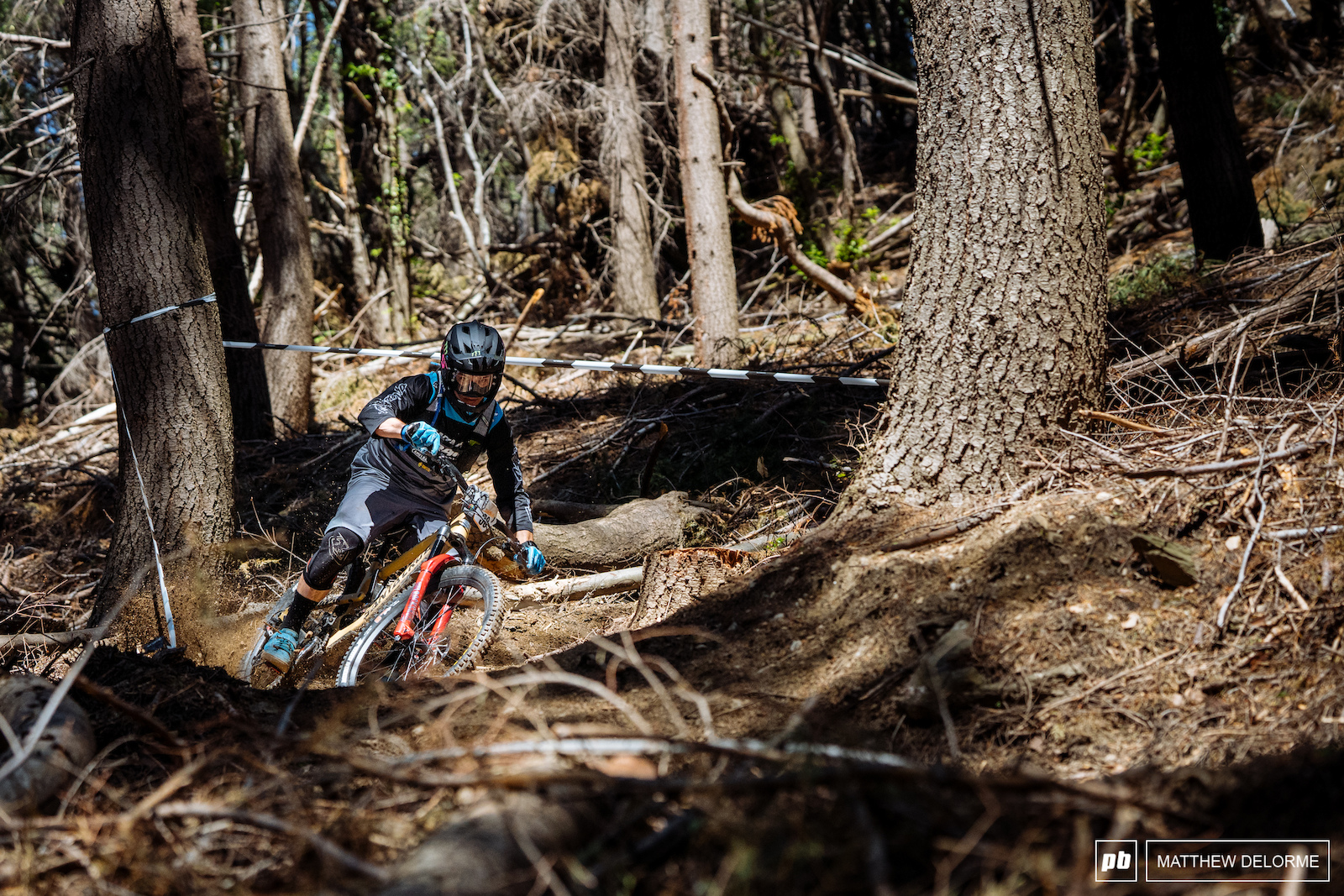 Rope-a-Dope gets full moto on stage two.
