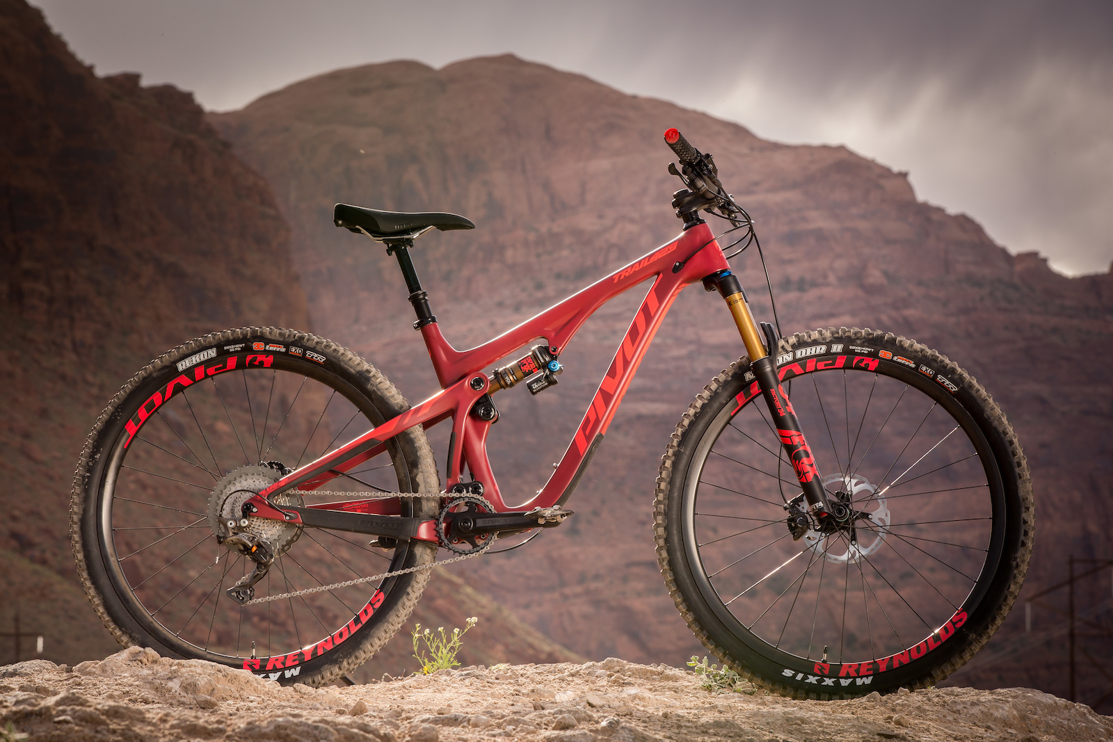First ride pivots new trail 429
