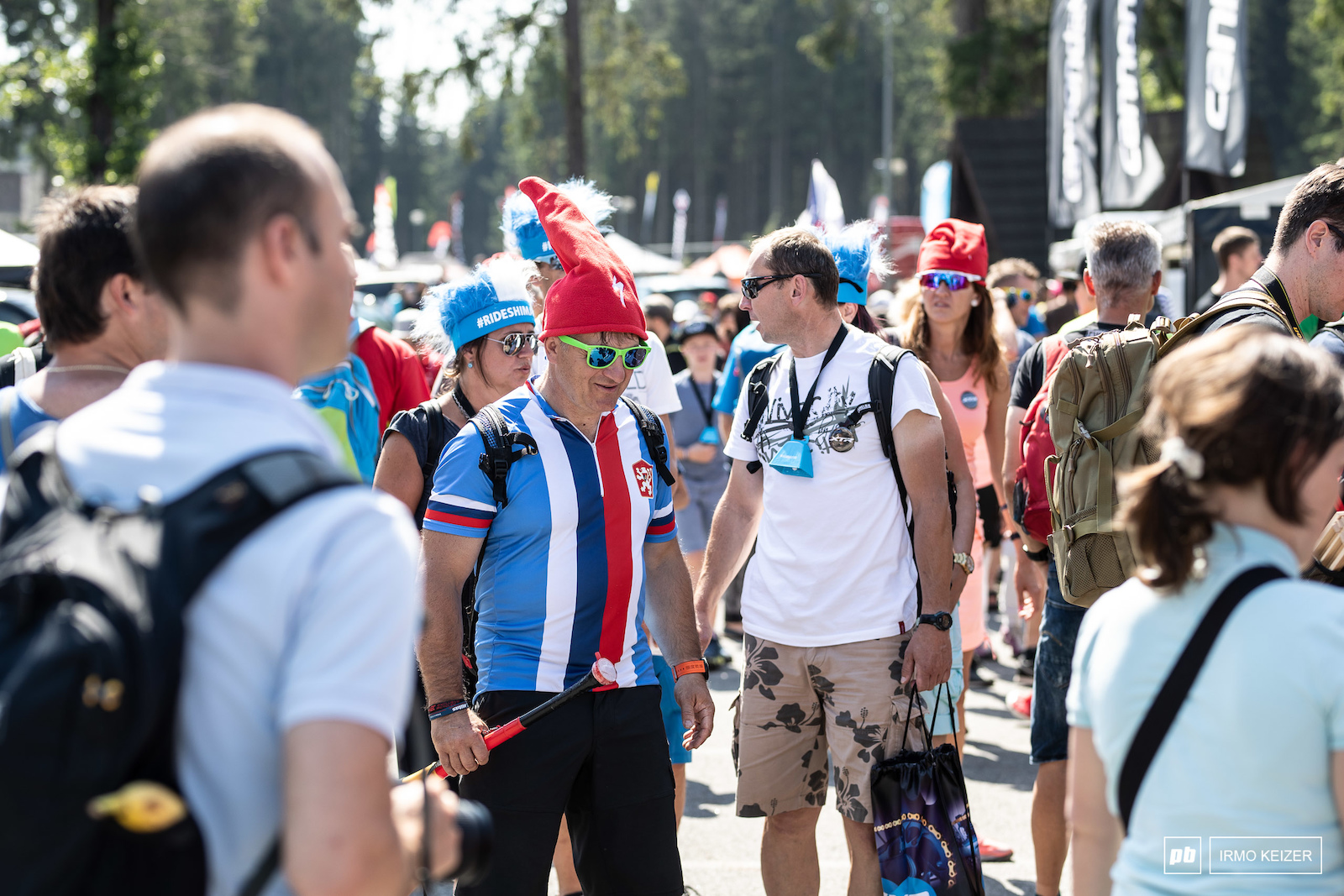 This event sets the benchmark for World Cups with regards to spectators. They were here at all races not just the men s elite race. Loud friendly and in numbers.