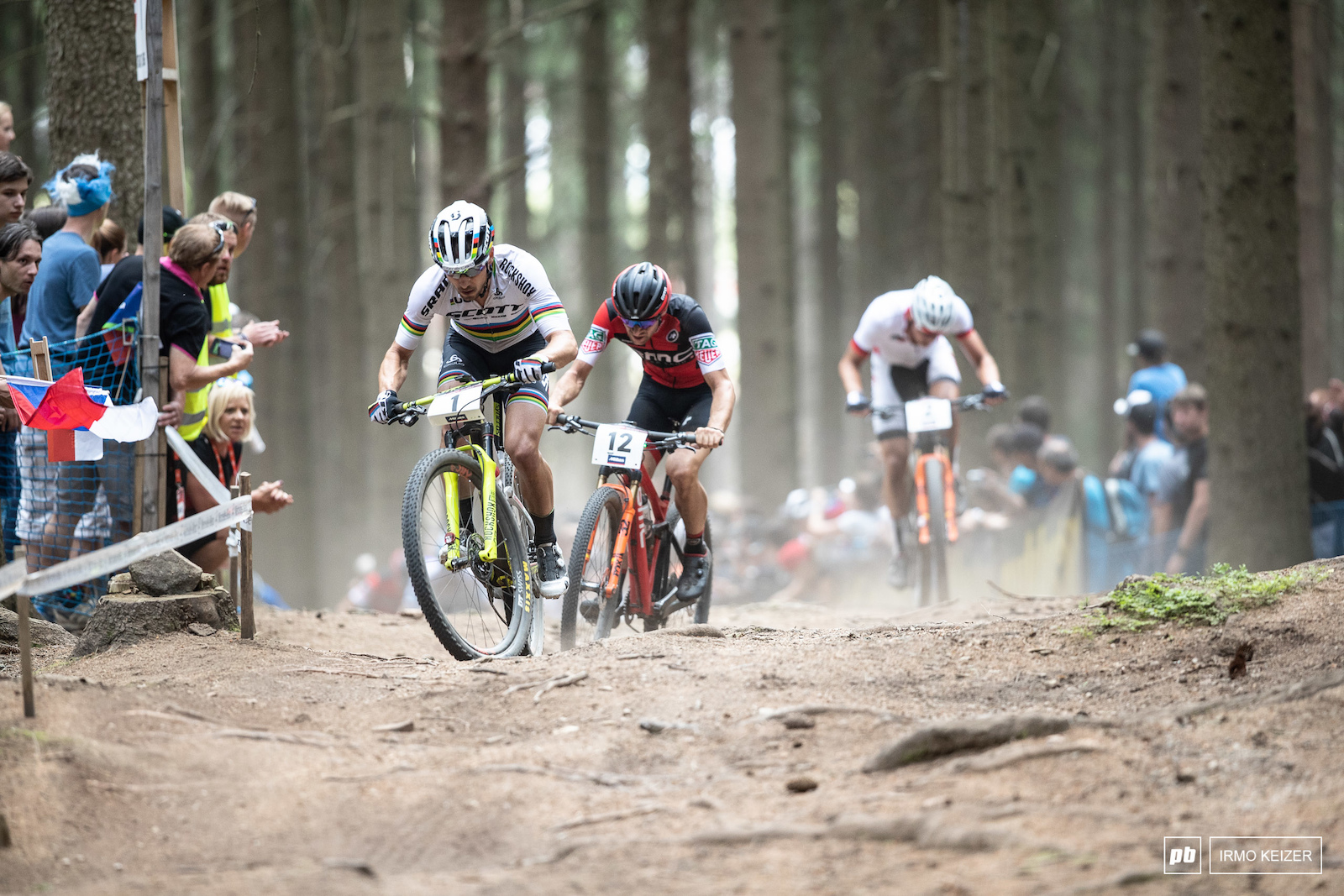 Nino Schurter s supremacy is challenged again chased down by a growing number of riders.
