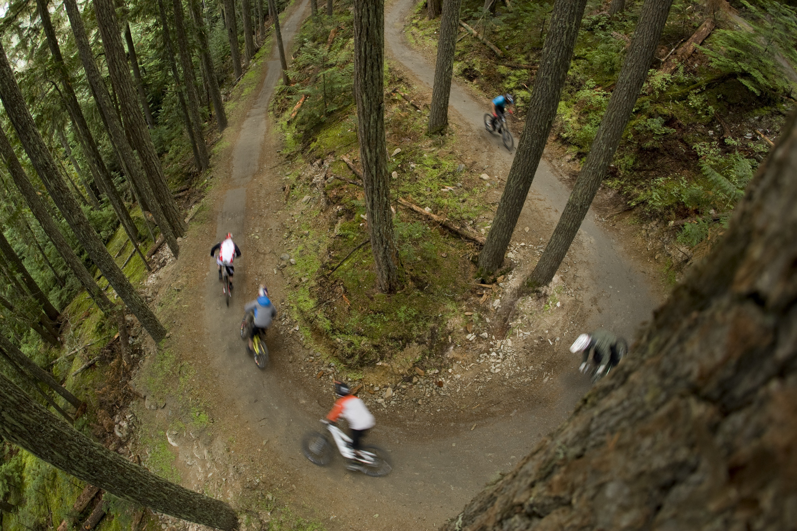 Seasons Whistler Bike Park