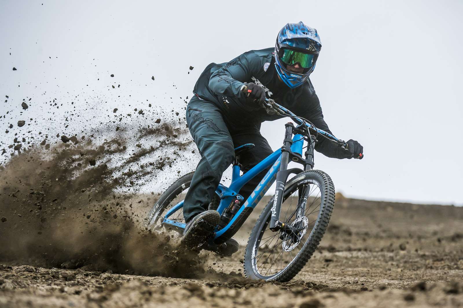 Tom got along with the dirt super quick. Blake Jorgenson Red Bull Content Pool