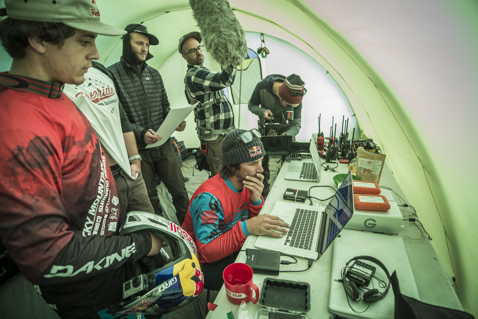 There were some distractions after all... Blake Jorgenson Red Bull Content Pool