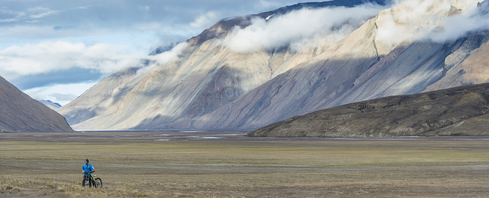 Incredible landscapes in all directions. Blake Jorgenson Red Bull Content Pool