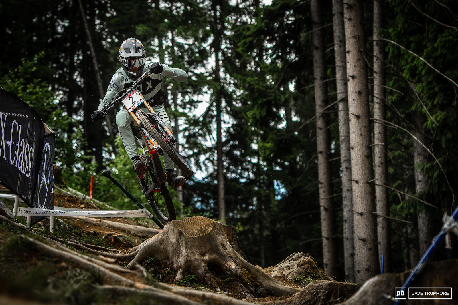 Last weeks second place finisher Loris Vergier is also looking quick on track in Leogang.