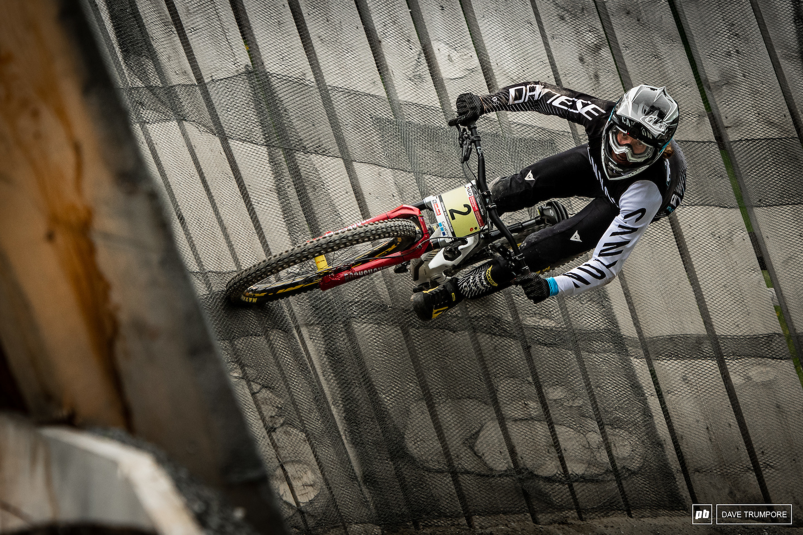 Kye A hern won his first junior race last week in Fort William and is looking to back to back here in Leogang.
