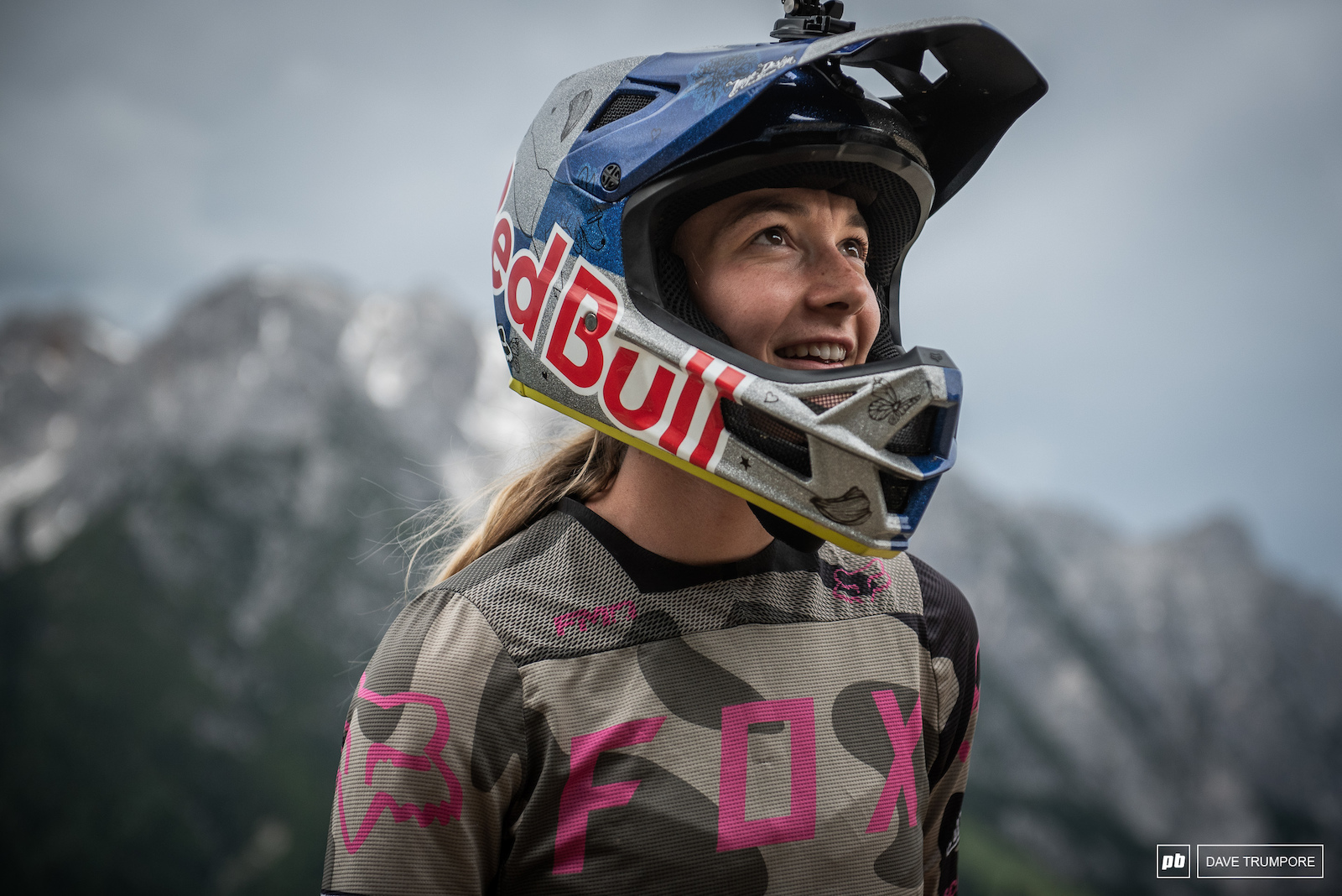 Tahnee Seagrave enjoying the improvements on track in Leogang this year and looking to repeat her winning performance from 2017.