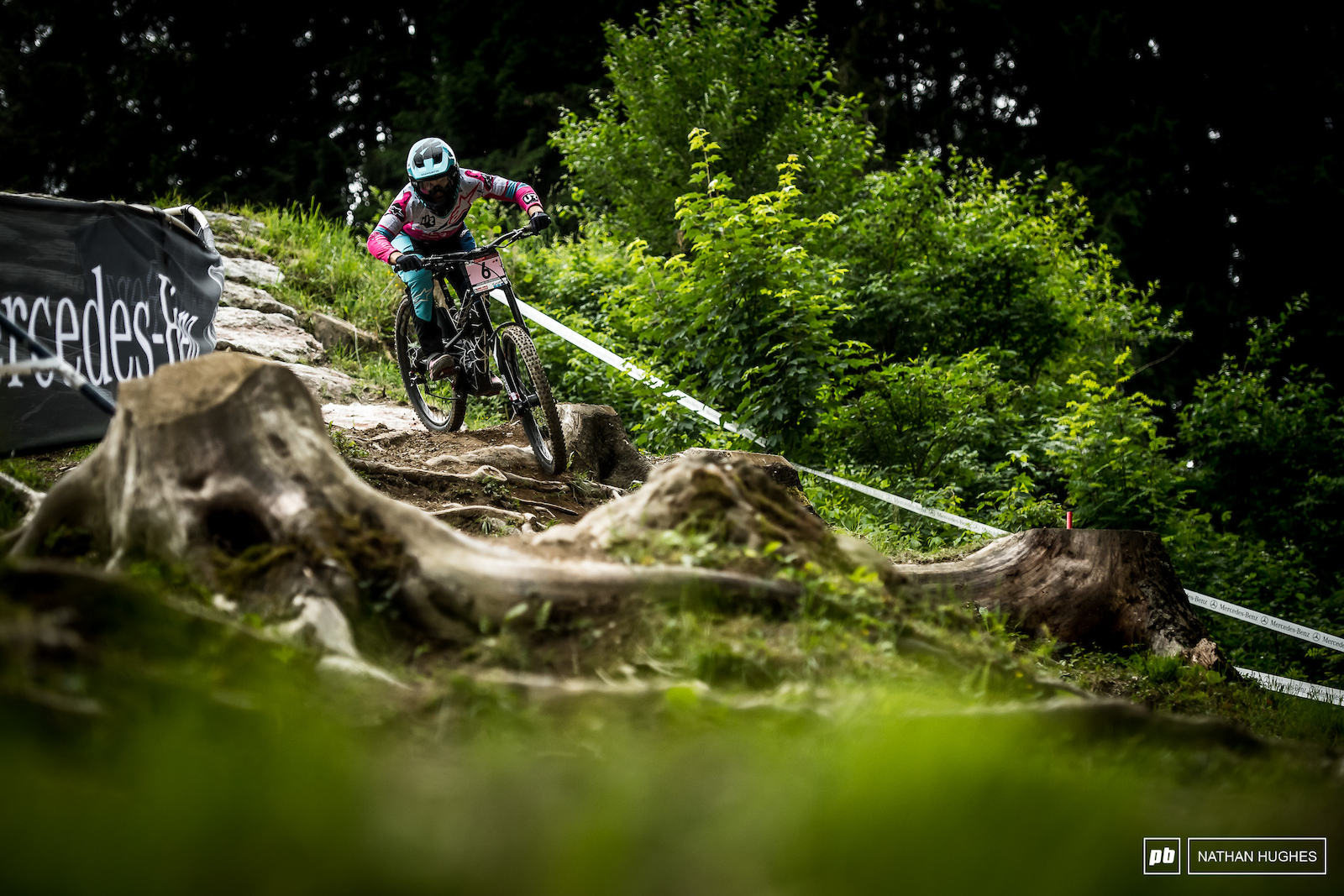 Tracey Hannah went second fastest in the women s TT but it seemed few apart from Rachel Atherton really went for it.