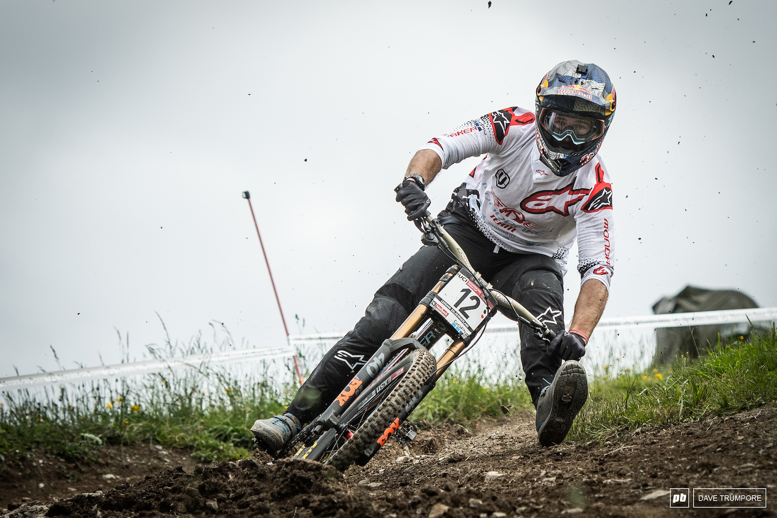 Foot out flat out and just 0.14 seconds back in Second Place for Brook Macdonald today in Leogang.