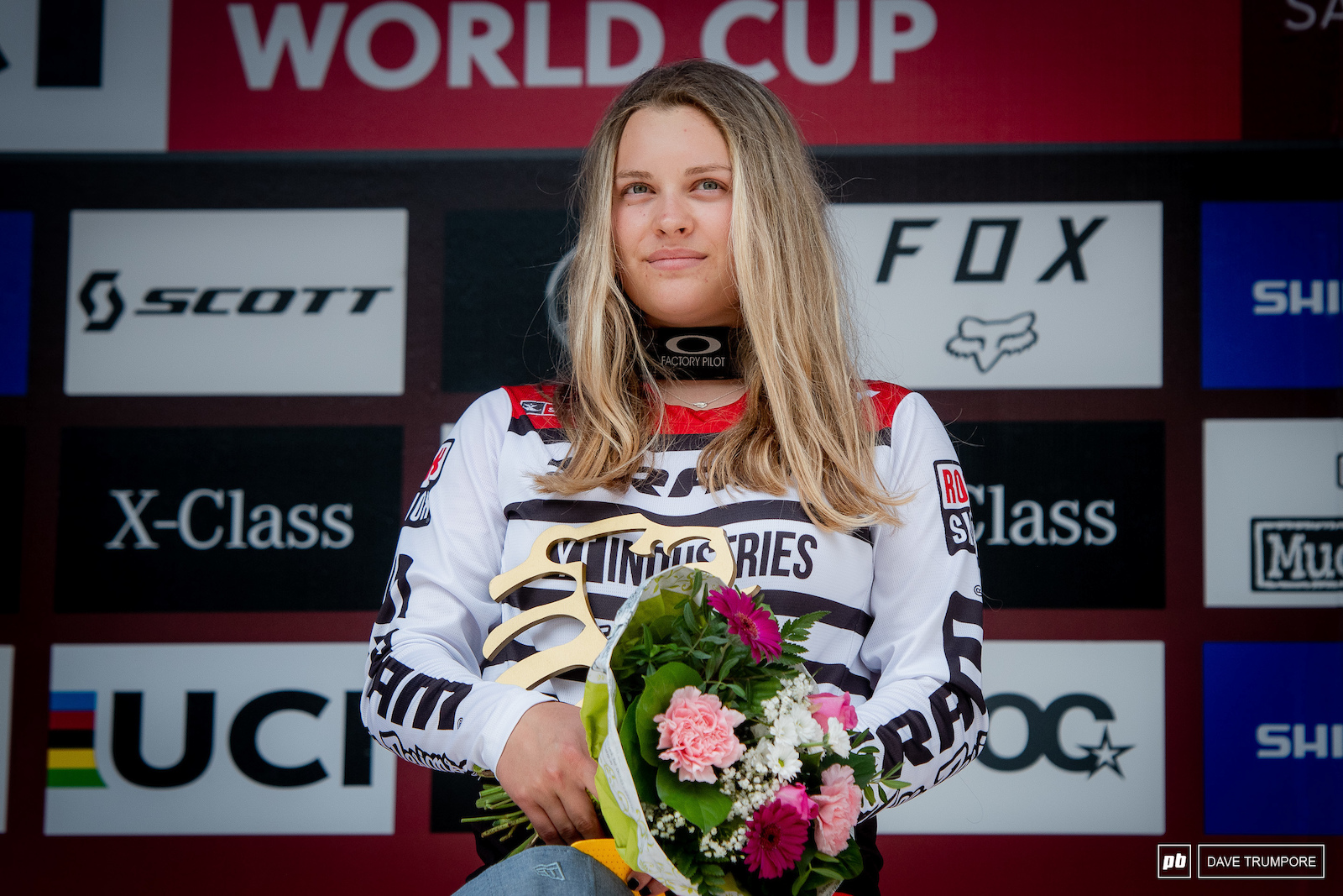Remember this face as you will surely be seeing junior Vali Holl on the top of World Cup podiums for the next decade or so.