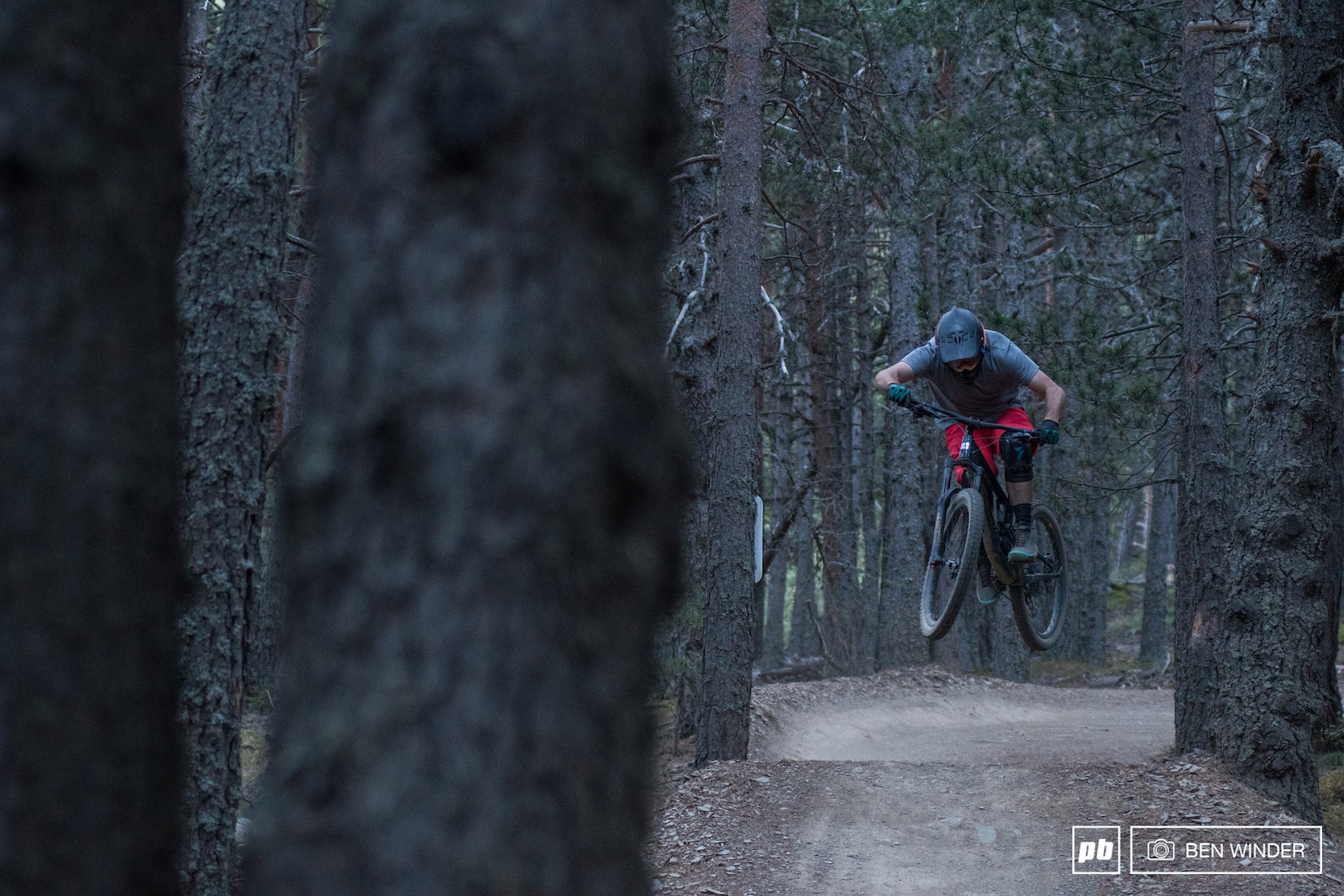The Commencal track back to town is a fun flow trail with a few big hucks.