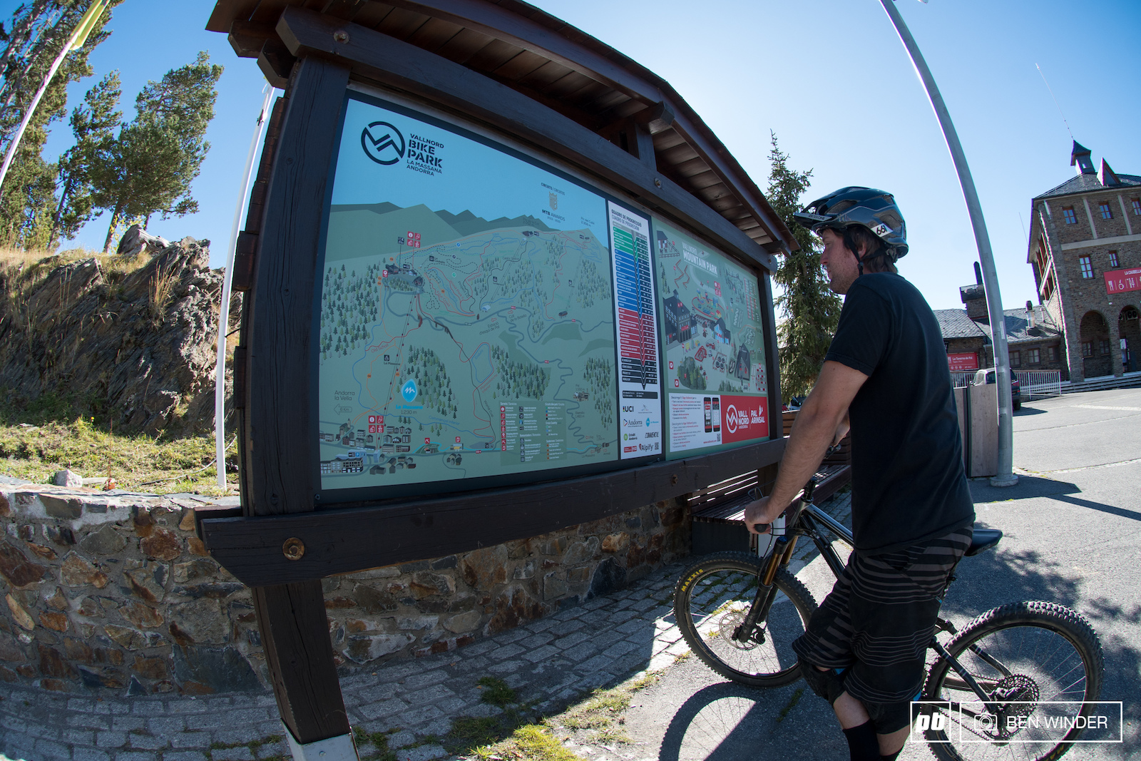 The trail maps are well documented and easy to follow.