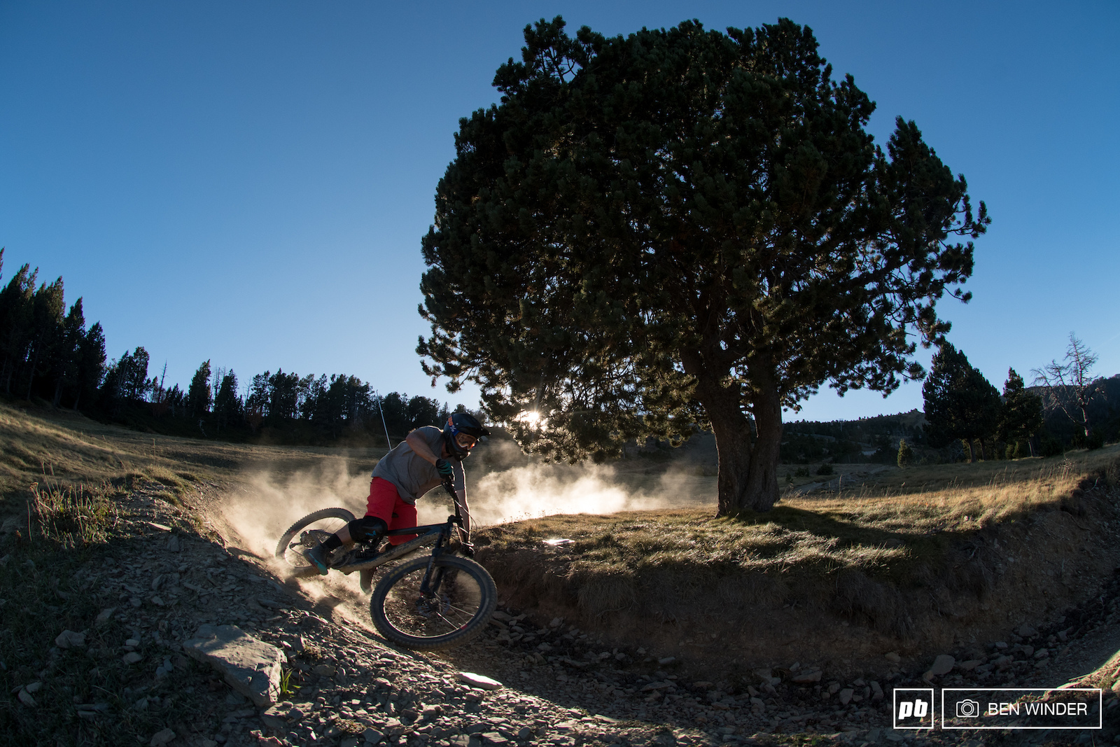 The dirt in Vallnord is to die for.
