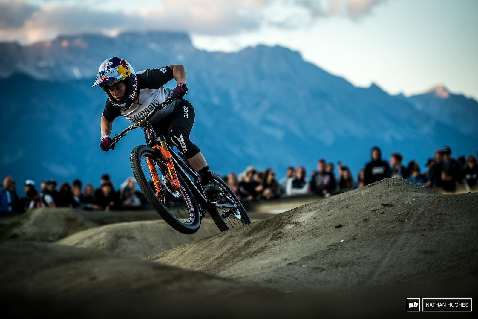 It wouldn t be a Crankworx pumptrack event without Jill Kinter ruling the roost.