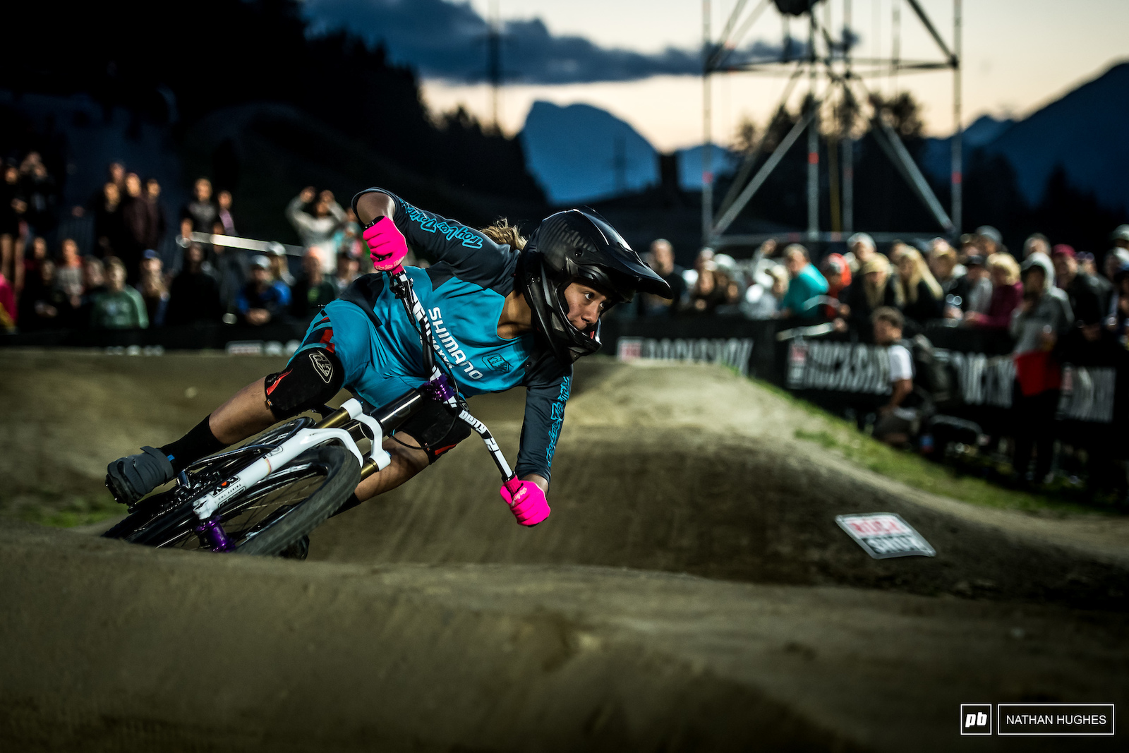 After a podium from US rider Kialani Hines in Rotorua big things were expected and she delivered here in Austria.