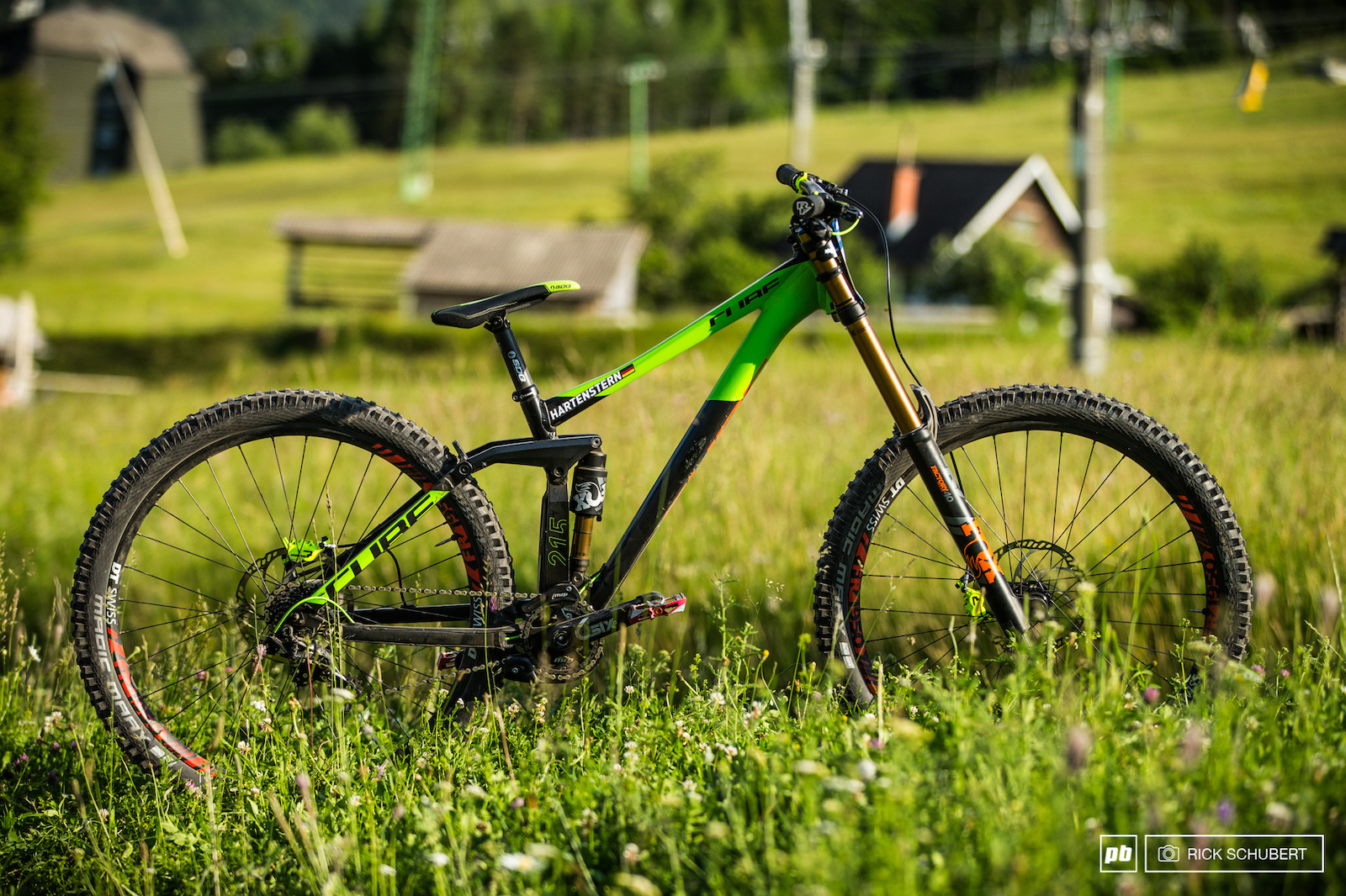 Max s 29er is still a prototype but as he mentioned close to production
