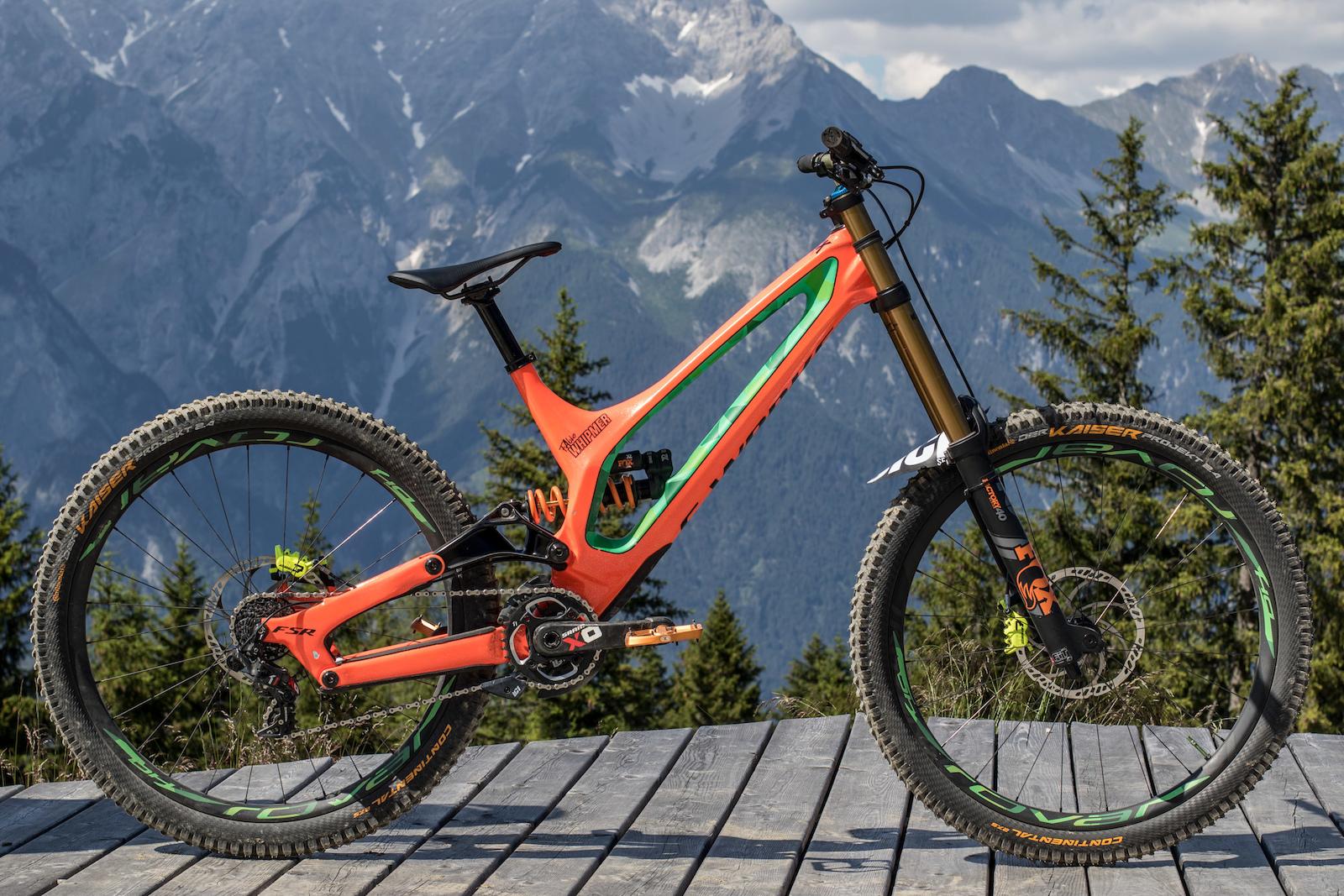 Can Am 2019 >> Bike Check: Fabio Wibmer's Specialized S-Works Demo 8 - Crankworx Innsbruck 2018 - Pinkbike