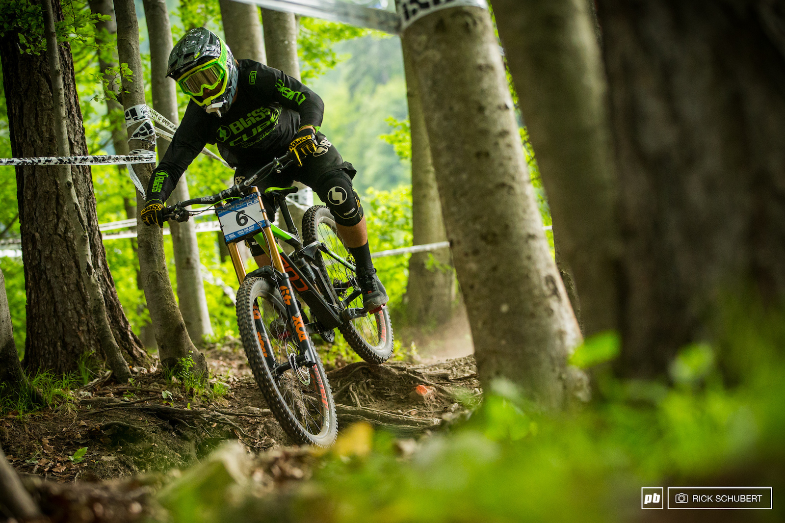 Matt Walker seemed to be taking things easy in Kranjska Gora finishing in 7th