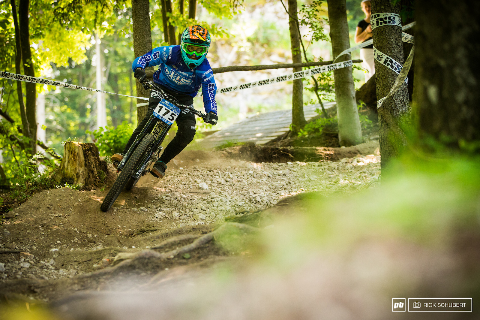 Antoine Rogge slammed the door and took the U17 male win with more than two seconds ahead