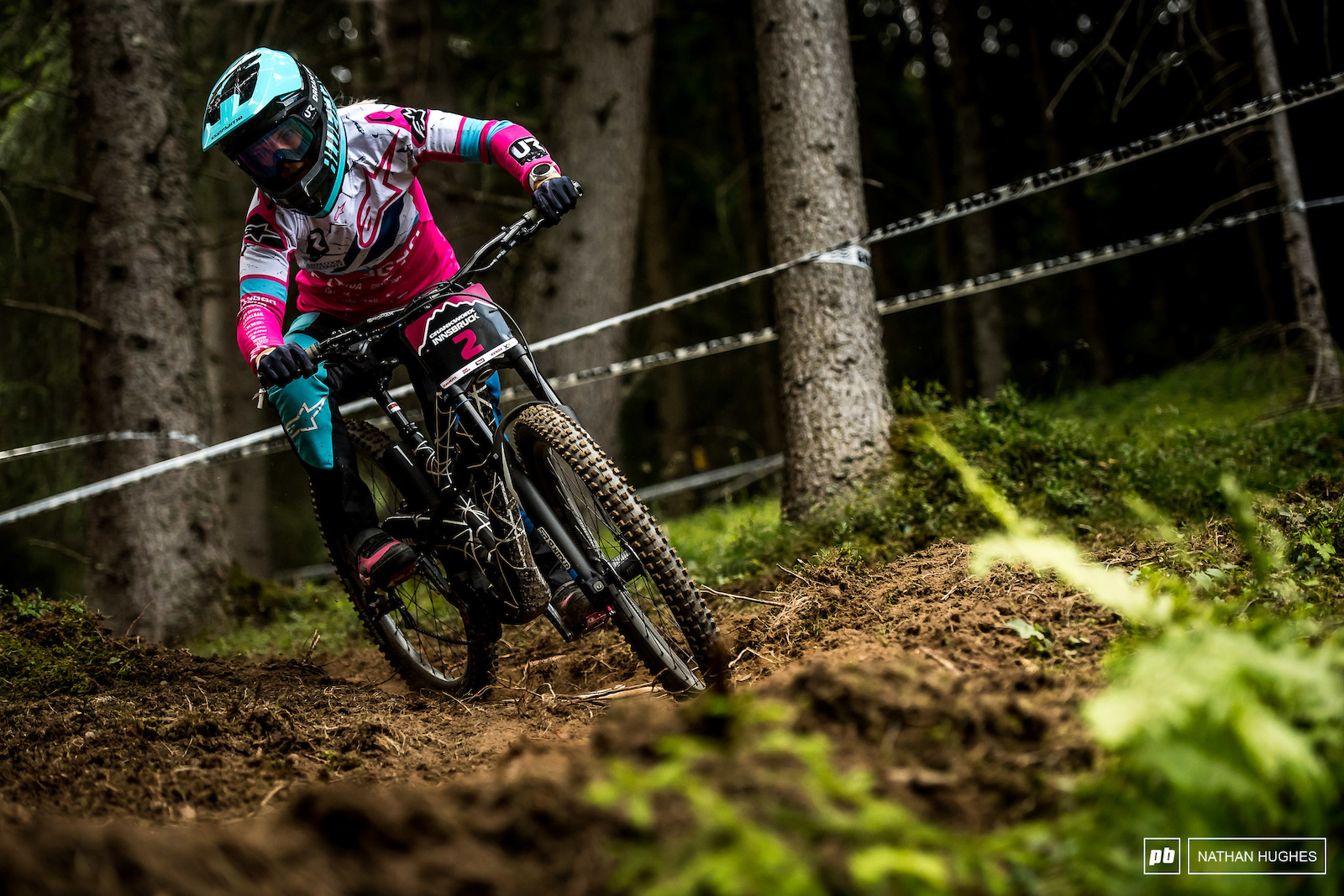 Tracey Hannah the victor here in the Austrian loam by some 5.5 seconds.