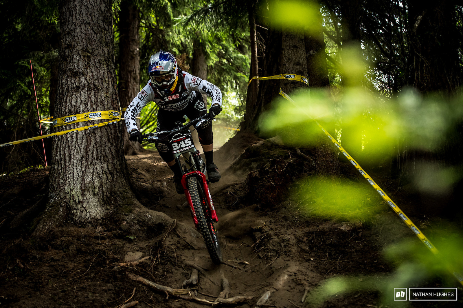 Vali Holl had one heck of a weekend and rode to within just 2 seconds of besting the fastest elite women s time.