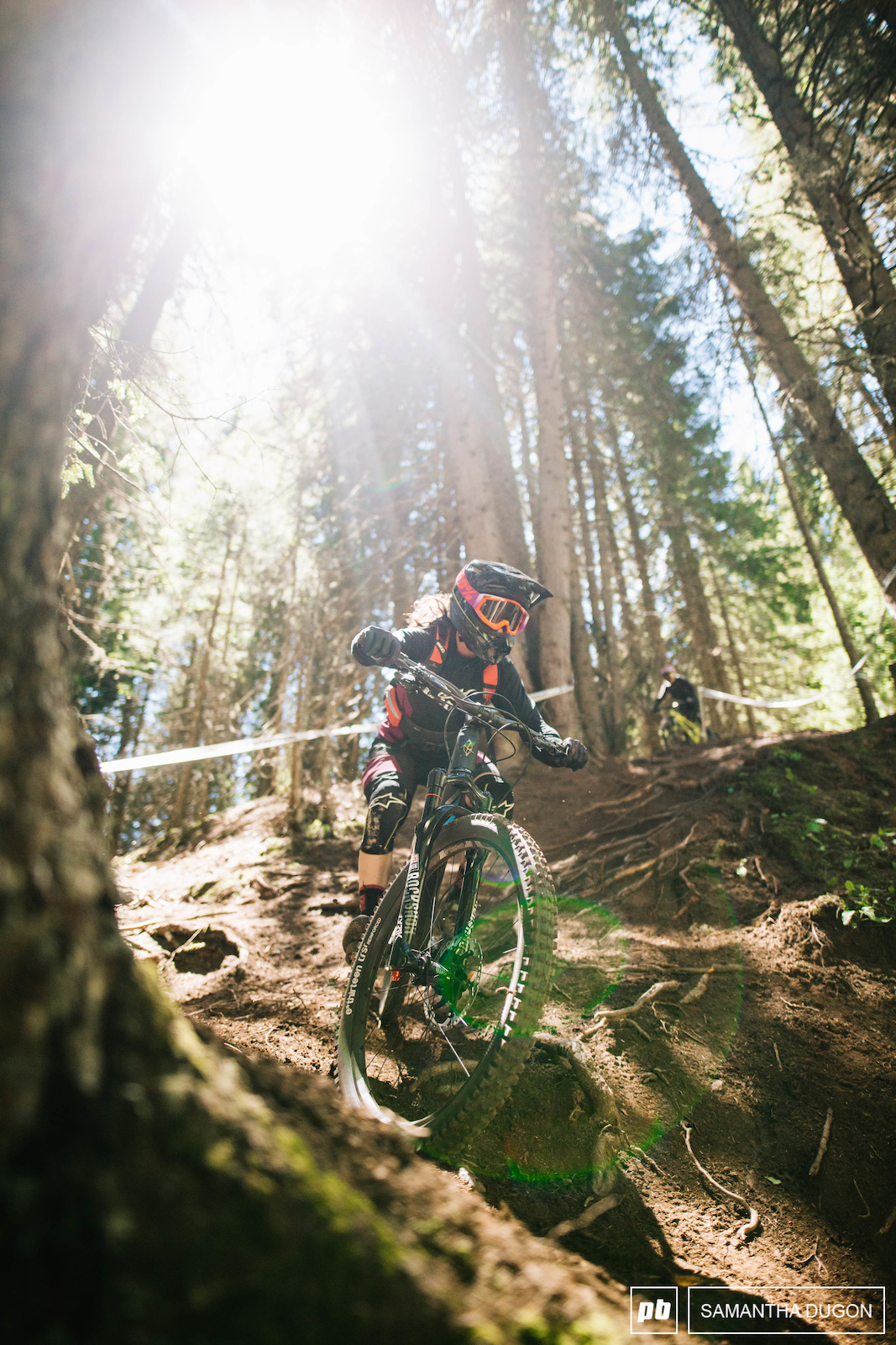 From mountain top ridges to deep dark woods. Stage 2 would test everything a rider had.