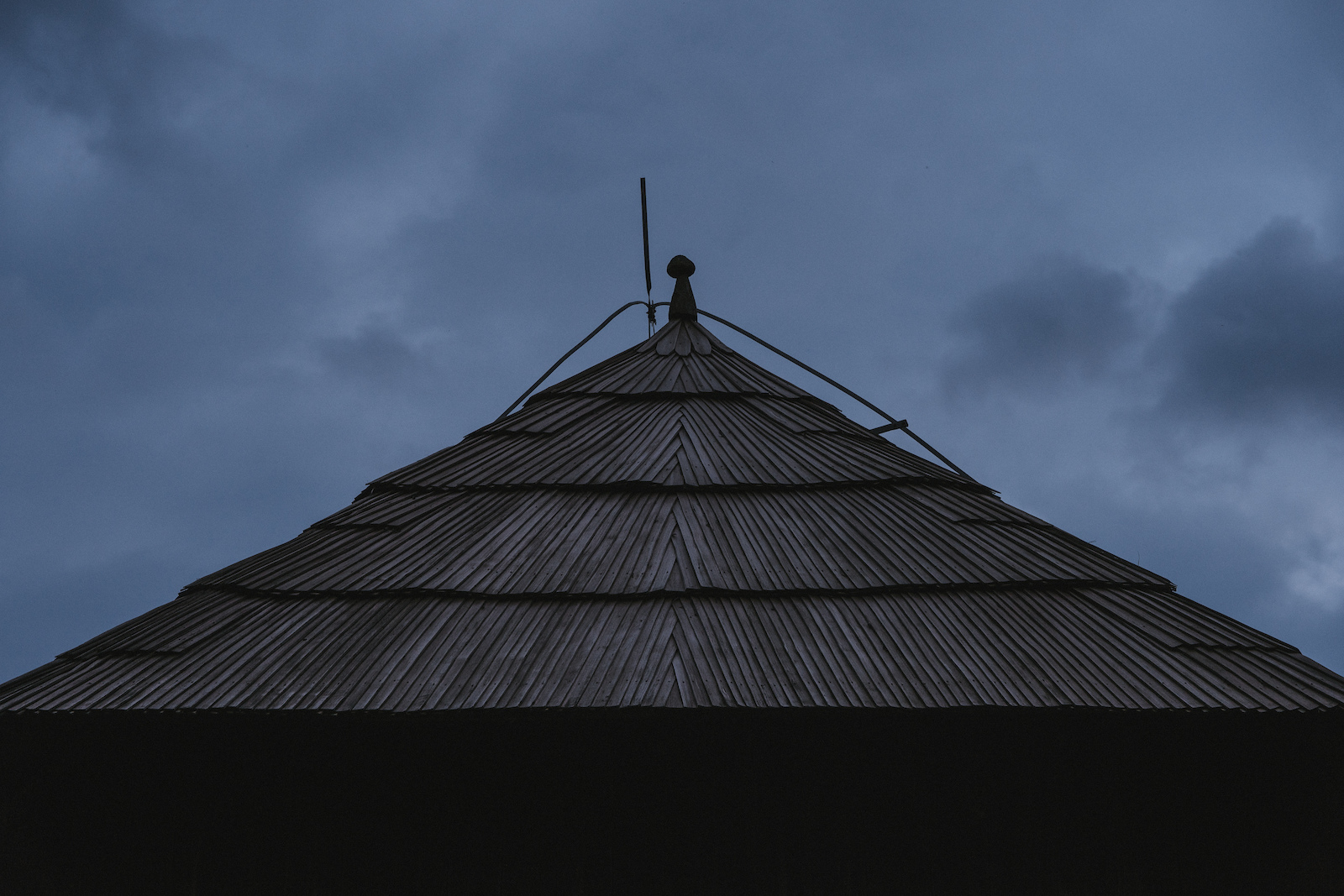 The roof tops are small works of art.