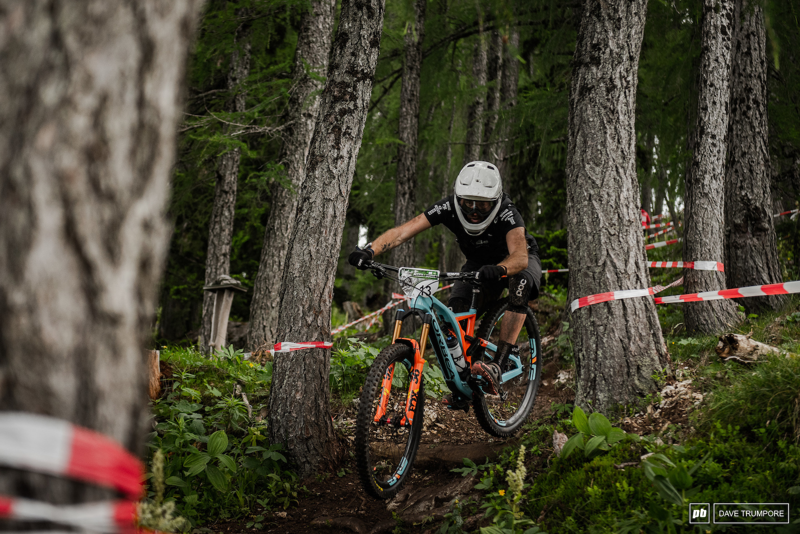 Thomas Lapeyrie having another strong and consistent EWS race in 9th.