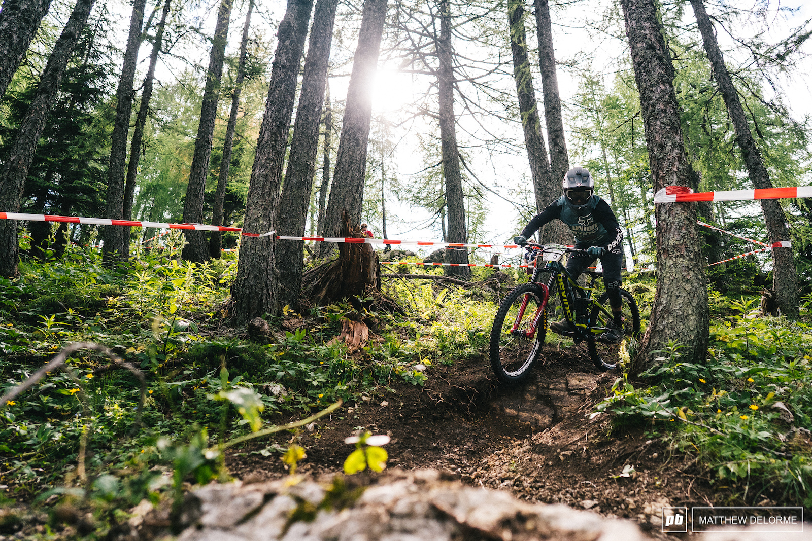 Damien Oton sits in sixth after day one with a second place on stage one.