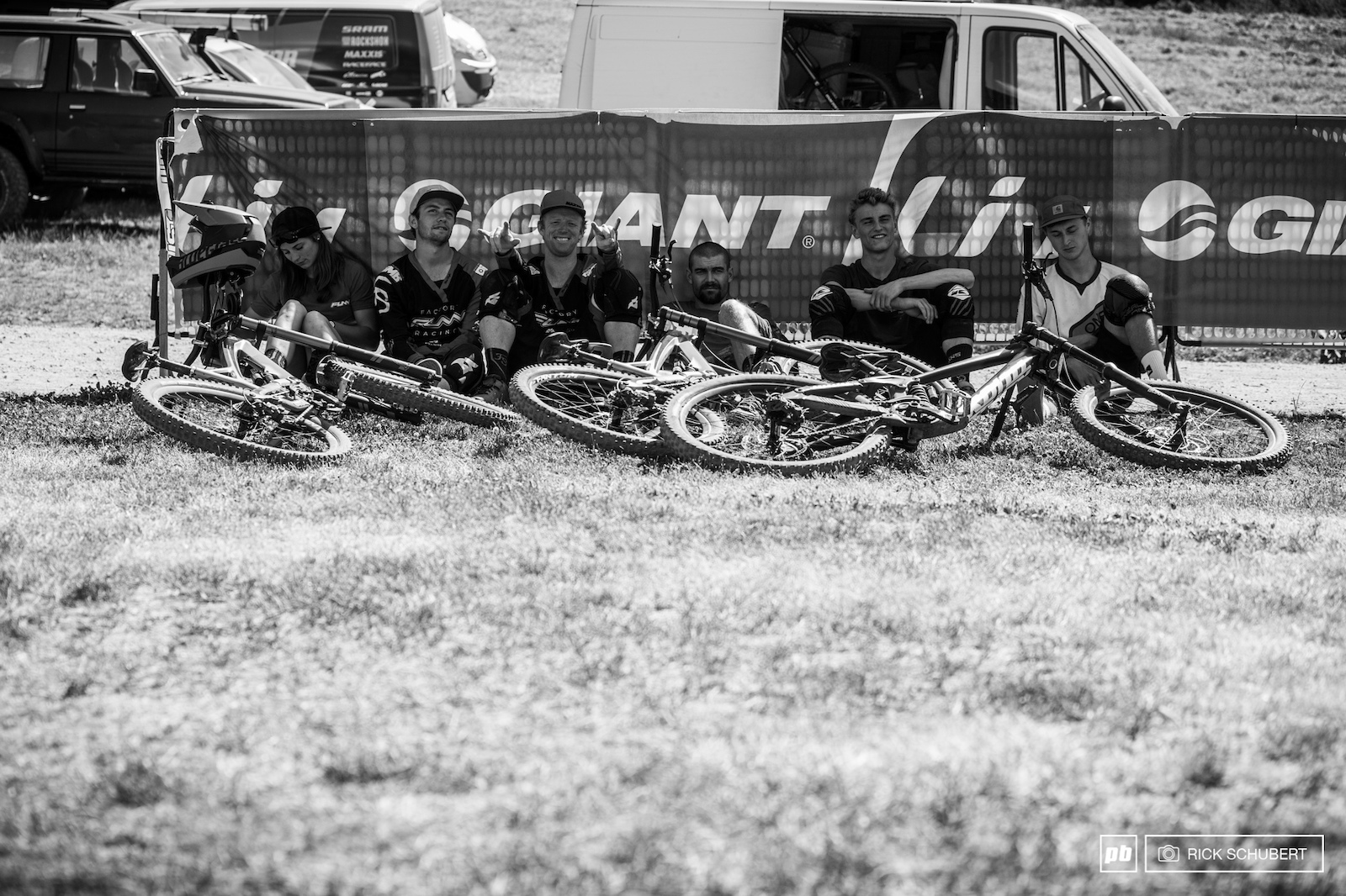 Due to high temperatures and the long demanding track the riders were suffering a lot this weekend