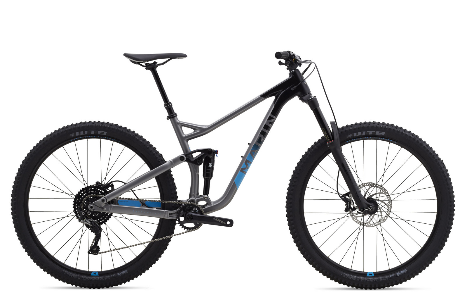 First Look Marin Alpine Trail 9 - Studio