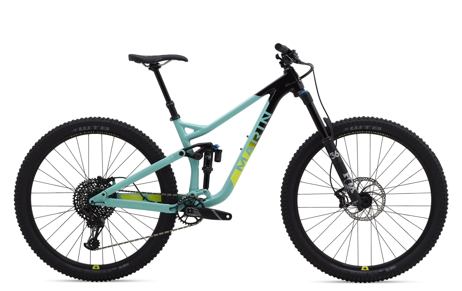First Look Marin Alpine Trail 8 - Studio