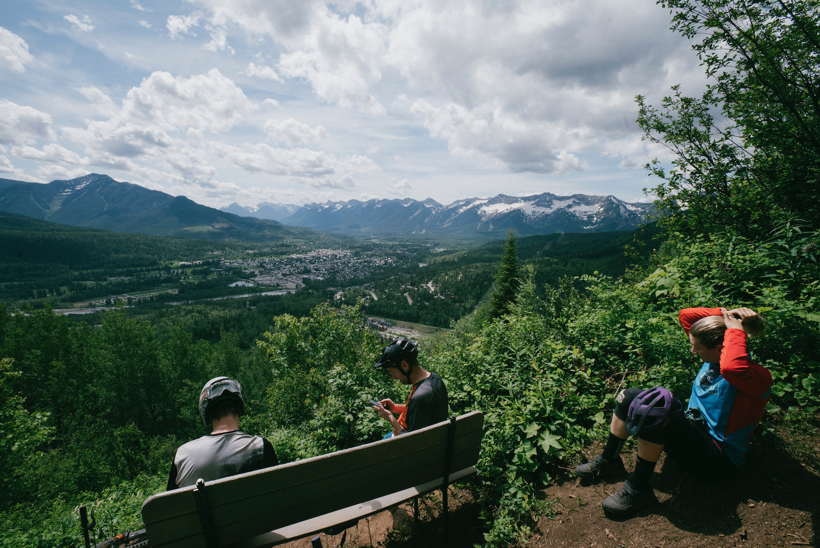 Make sure you climb a mountain in Fernie the views are spectacular P.S. Gram It