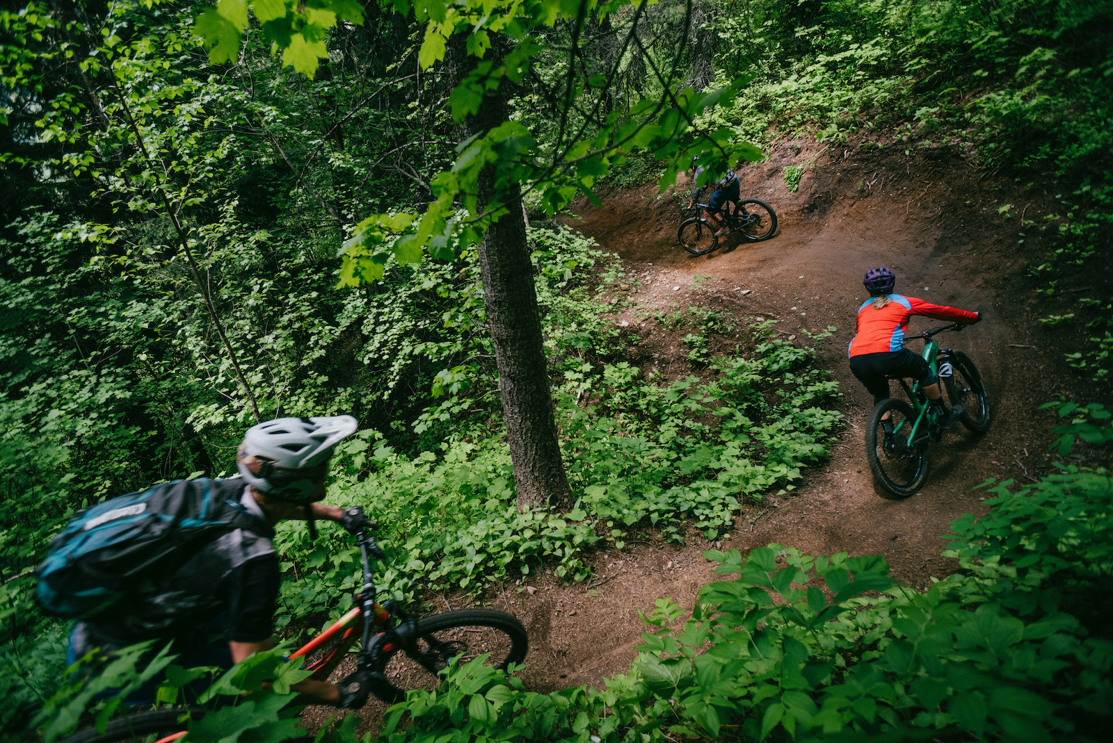 From scenic views to flowy trails Fernie offers it all. Berms like this will have you coming back for more.