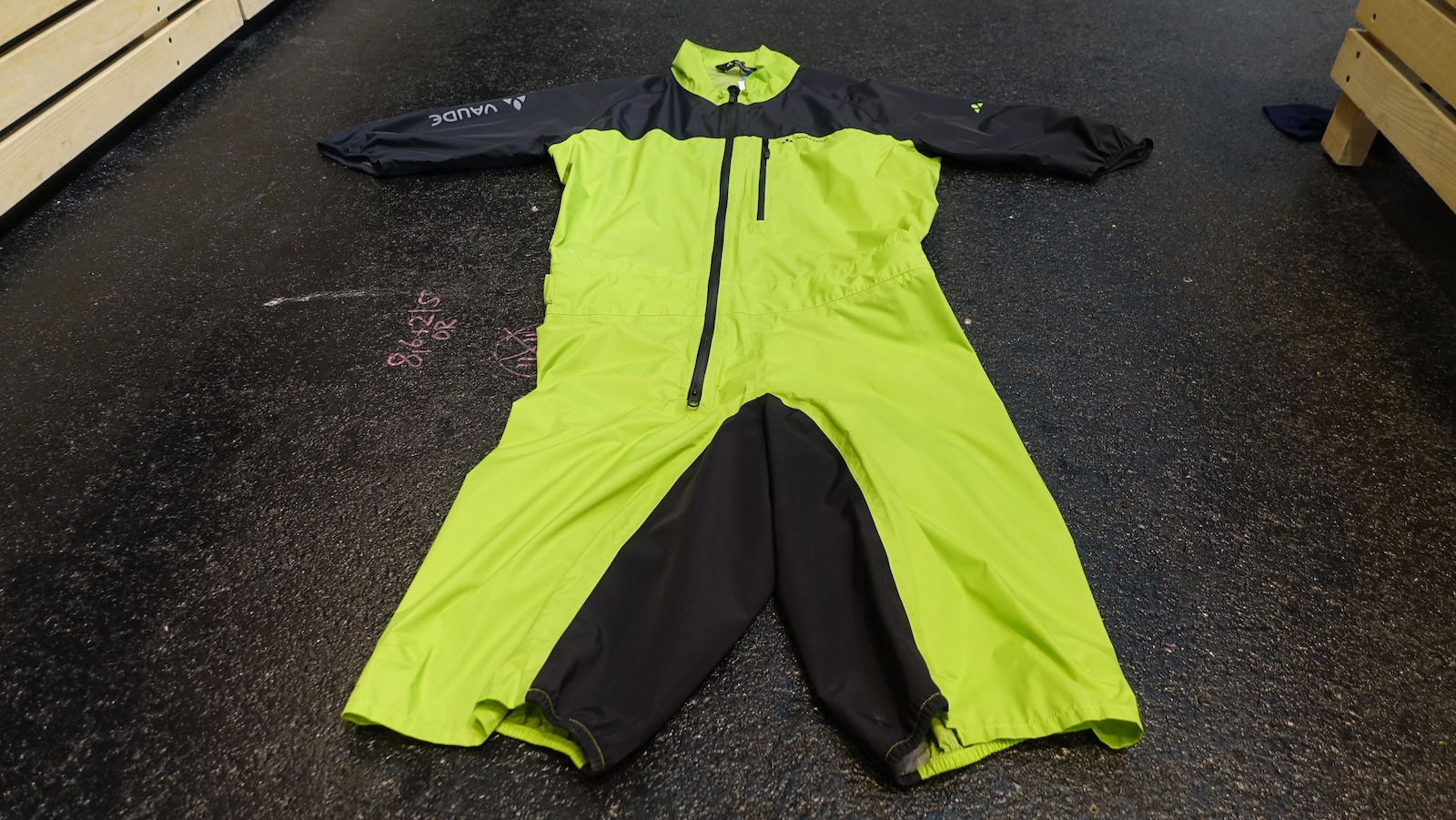 The Rain Suite is Vaude s take on the all-in-one. This one retails for 200.