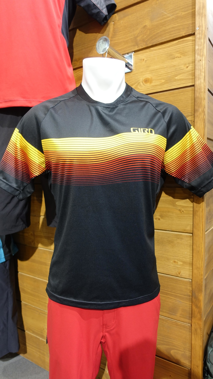 You ll stand out on the trails in this kit or look like a German football supporter yes we know the German flag goes black red yellow .