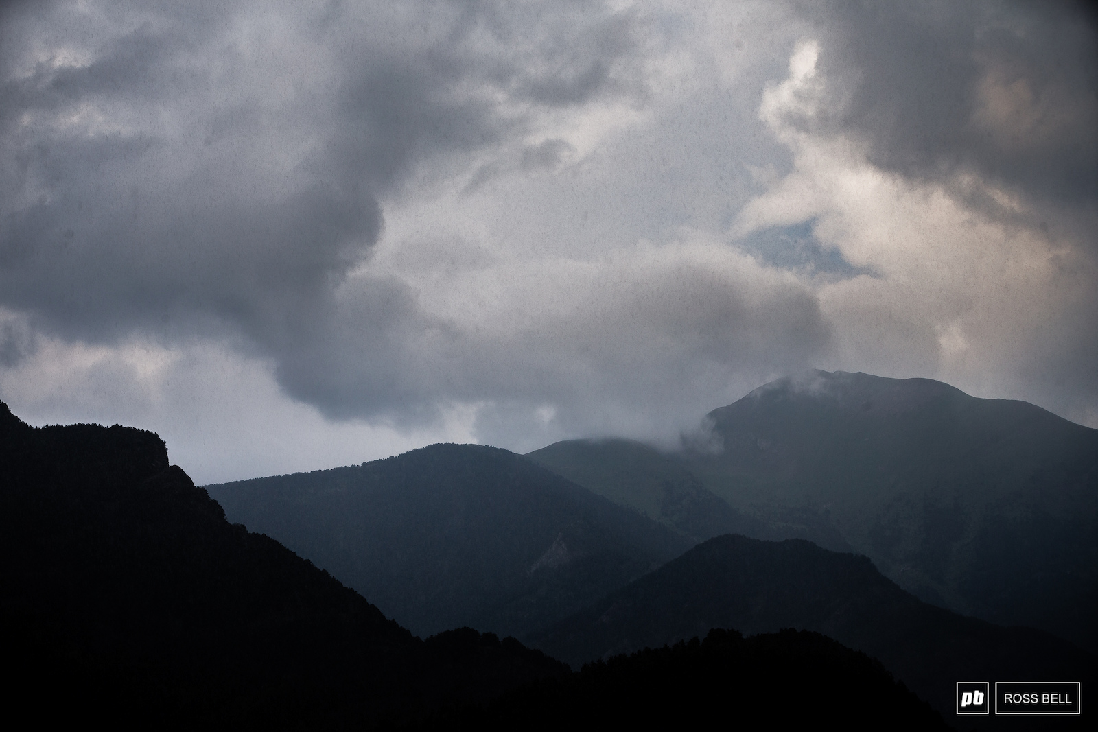 Rain storms have been rolling in over the mountains late in the afternoon since arriving.