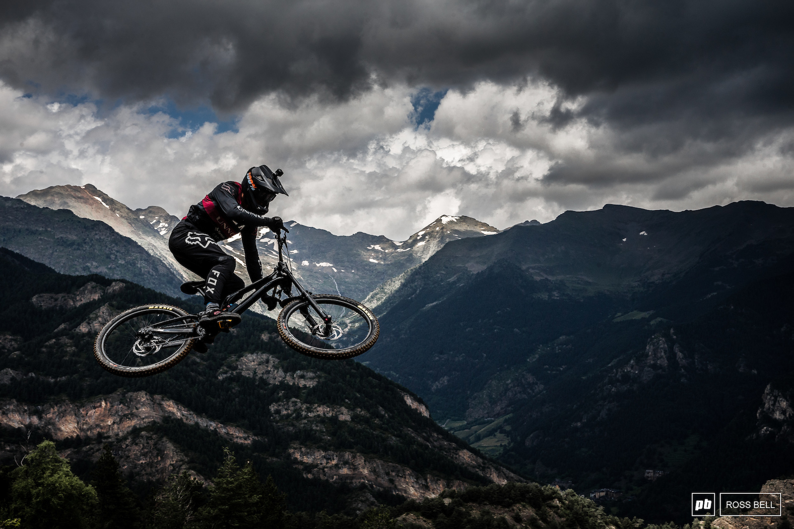 Greg Williamson boosts above the stunning Pyrenees backdrop that engulfs the track s surroundings. He s hungry to right the wrongs of last week where he got caught out in the qualifying chaos.