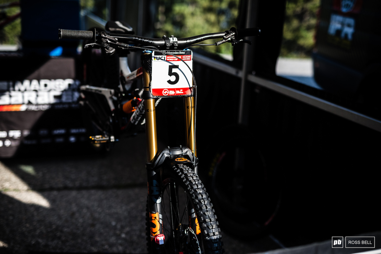 DH Bike Setup Changes - Vallnord World Cup 2018 - Pinkbike