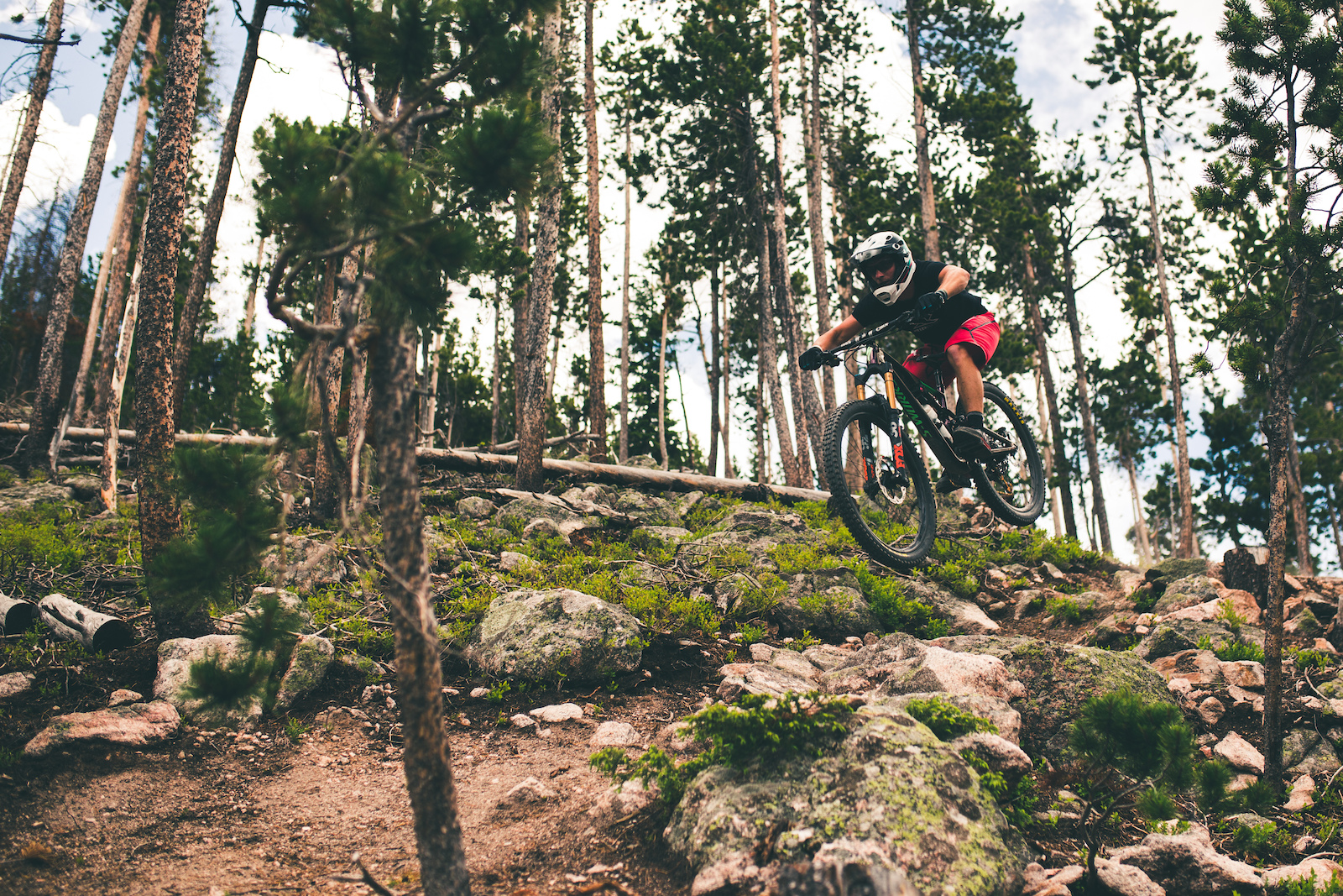 We got a sneak preview of Dirty Dozen Trestle s newest trail. This trail is super fun having a mix of backcountry style rock gardens and machine built berms to keep up your speed.