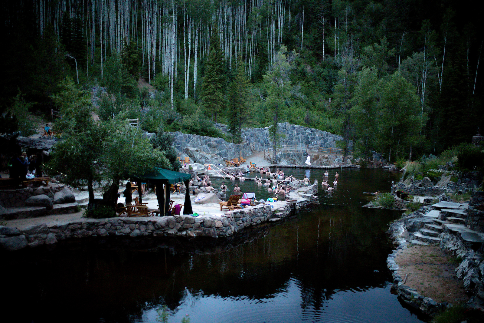 The Strawberry Hot Springs are one of the most famous hot springs in Colorado. It s the perfect place to let your body recover after a full day of backcountry.