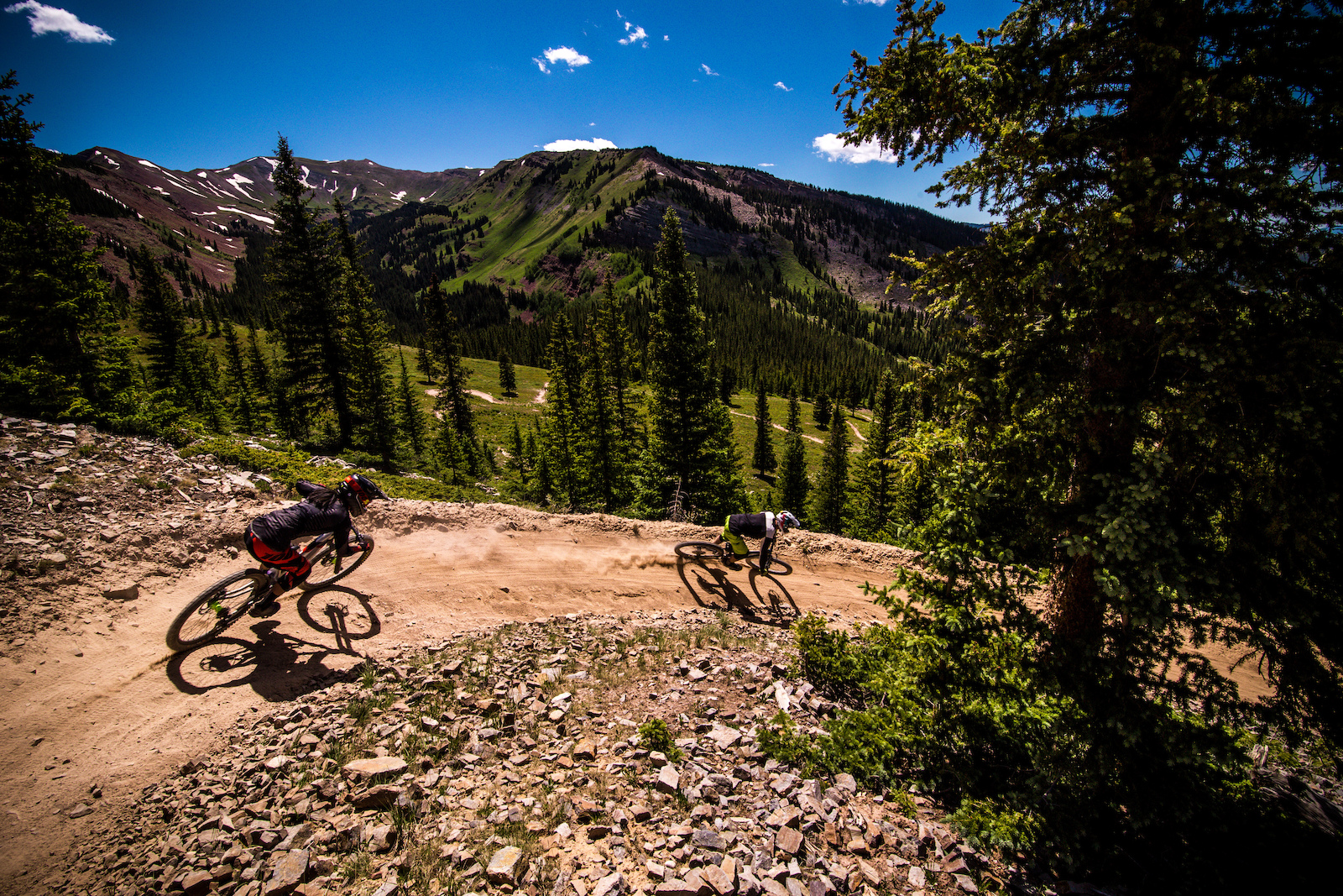 Snowmass was basically a bike park plopped in a place for sightseeing.