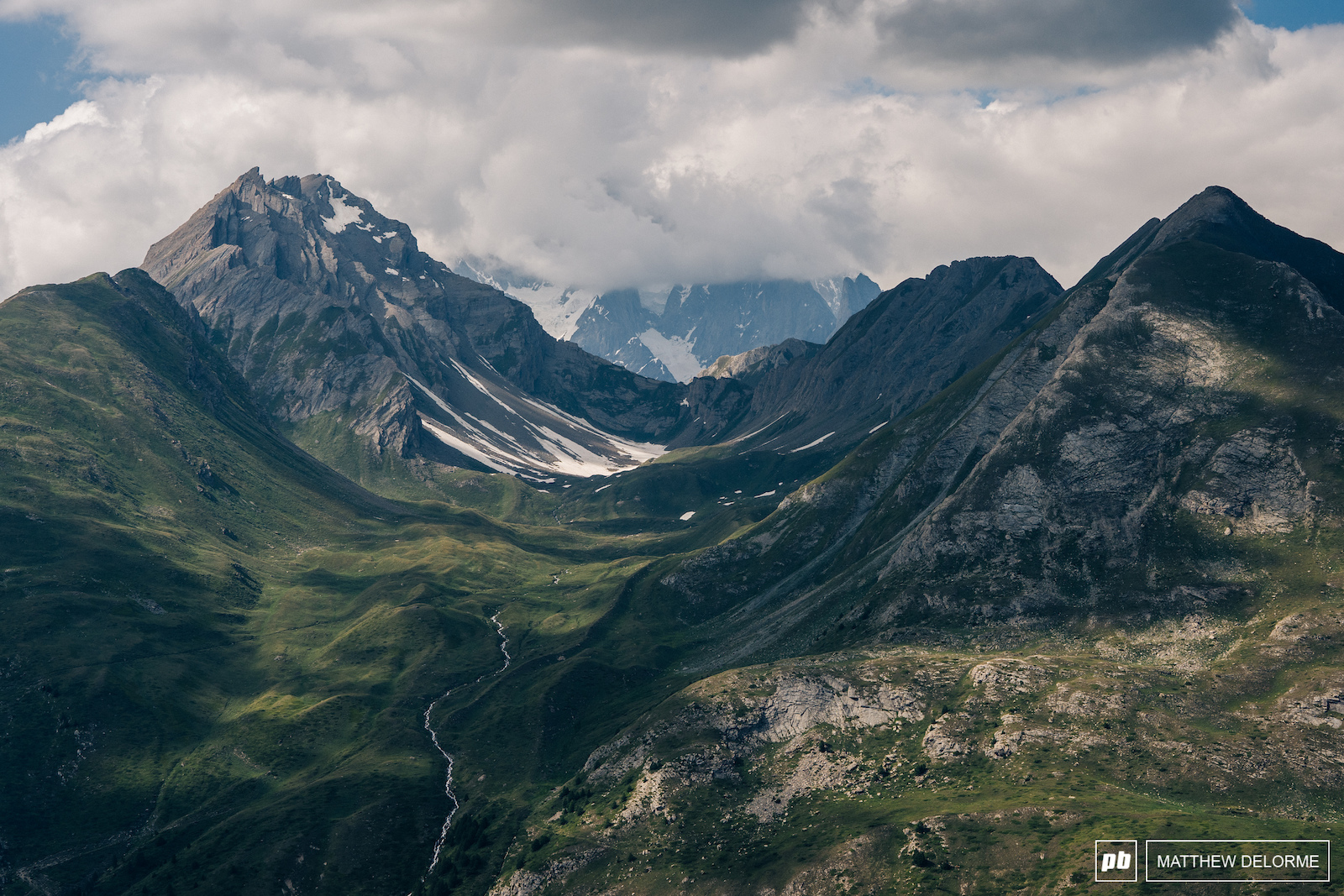 Just one of the things La Thuile has in spades- is epic views.